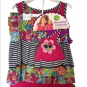 """""""Dollie and Me"""" Matching Outfit ( Skirt Set)"""
